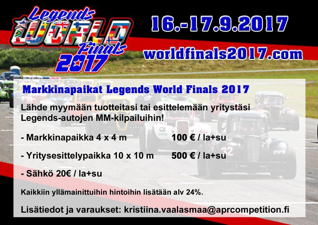Markkinapaikat Legends world finals